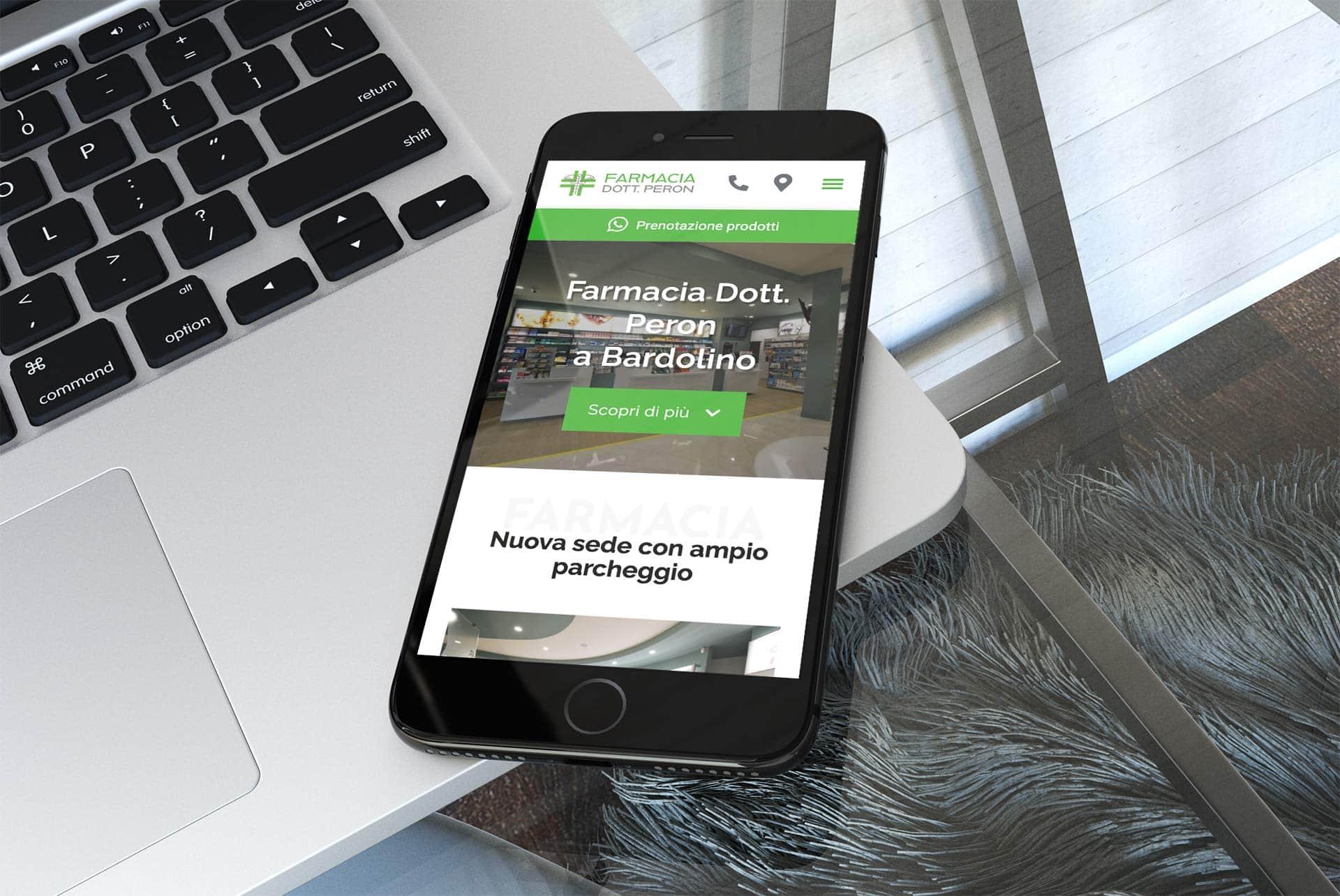 sitoweb-farmacia-peron-mobile