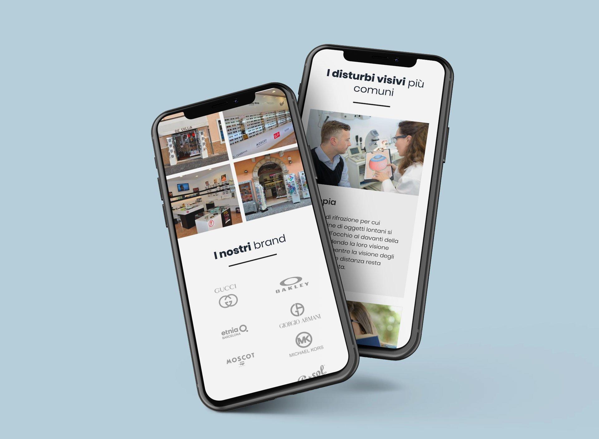 sitoweb-ottica-devilla-mobile