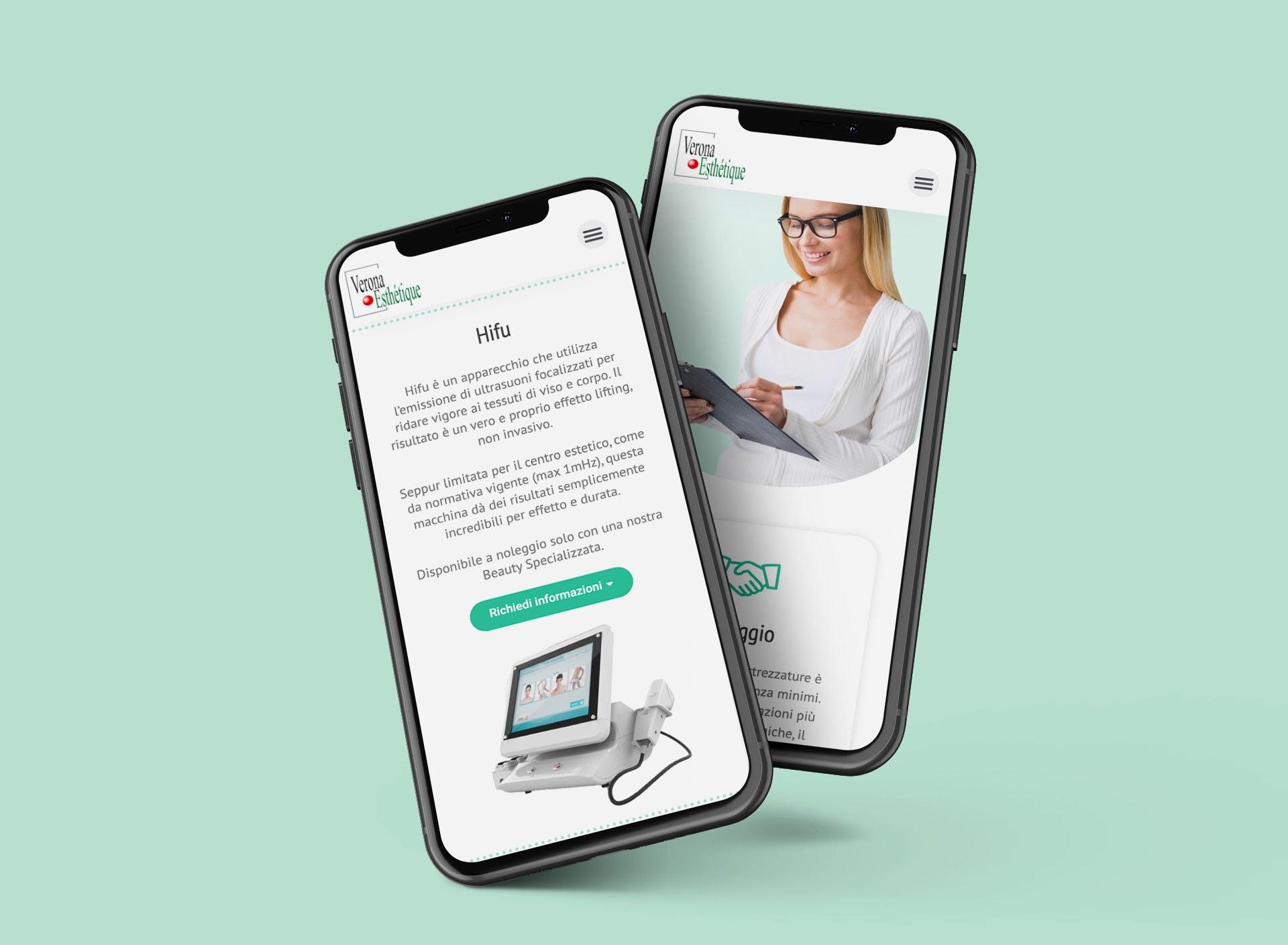 sitoweb-verona-esthetique-mobile